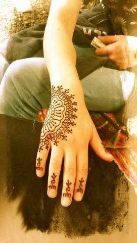 Half Hand Henna