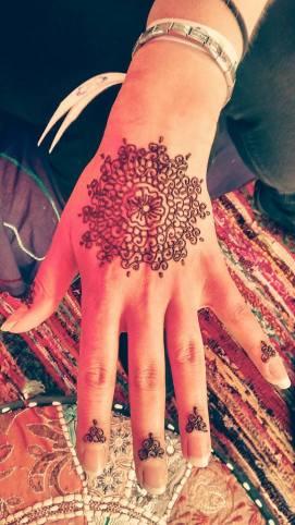 Mandala Hand Henna